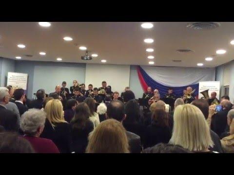 оркестр ВМФ США - гимн РОССИИ