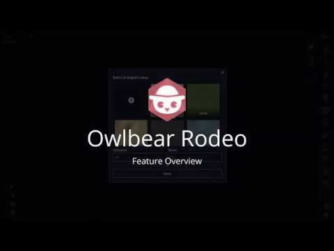 Owlbear Rodeo Feature Overview (July 2020)