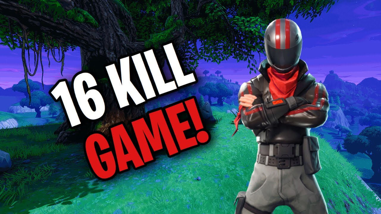 16 Kills Solo Dub Fortnite Br Youtube