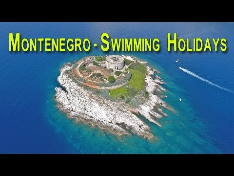 Drone Clips of Montenegro Swimming Holidays by Strel Swimming