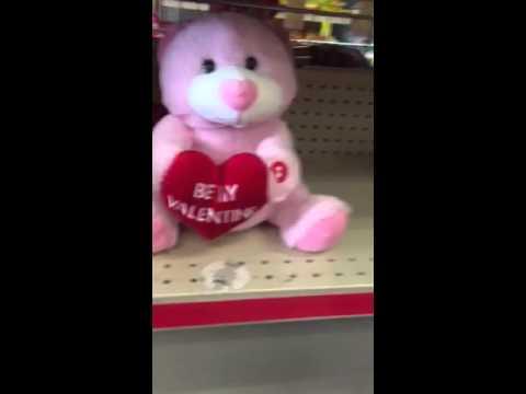 Valentine day singing toy