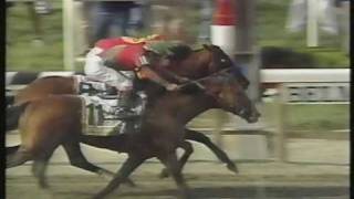 Victory Gallop Belmont Stakes 1998 - Thrilling finish - Triple Crown lost by a nose