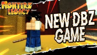 New Interesting Dragon Ball Community Style Game | Fighterz Legacy in Roblox | iBeMaine