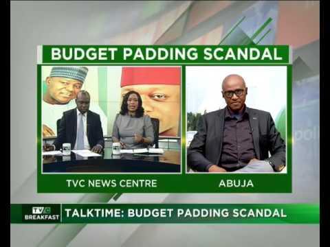 Budget Padding Scandal