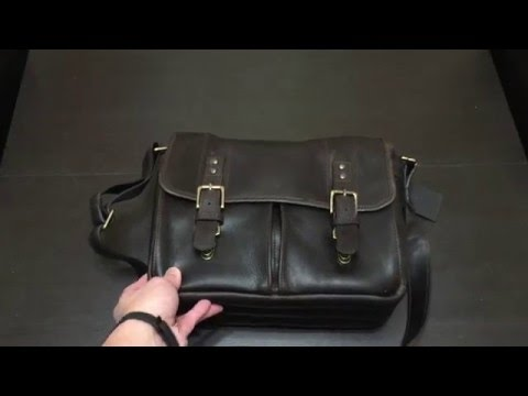 ONA Leather Prince Street Bag Unboxing