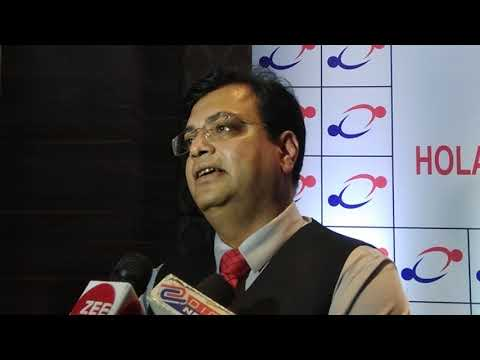 Holani Consultants press conference jaipur