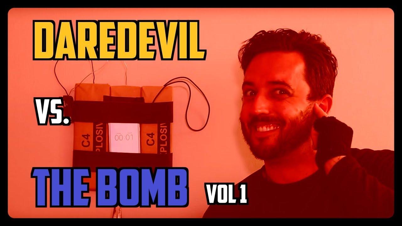 Sketch From Superheroes: Daredevil vs. The Bomb 1
