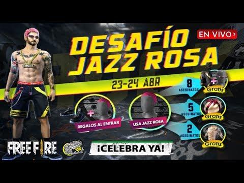 🔴 Consiguiendo GRATIS El Conjunto Jazz Rosa En El Nuevo Desafió!! - FREE FIRE