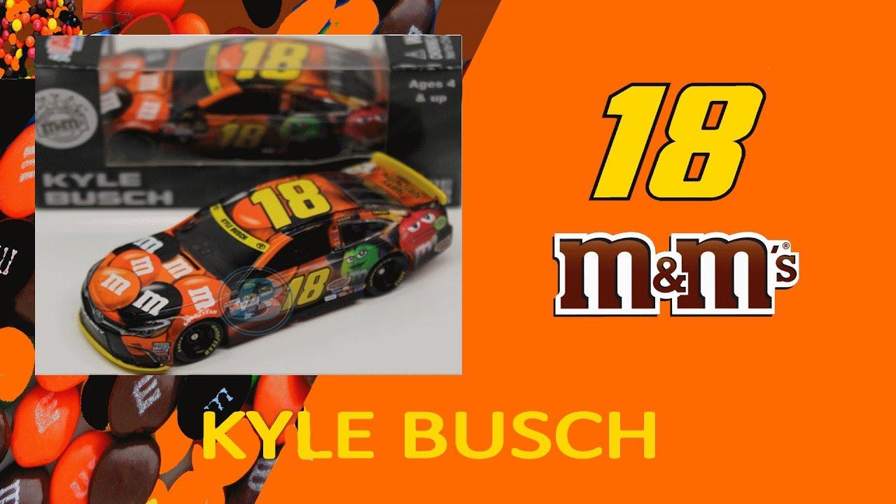 nascar diecast review kyle busch mms halloween 2015 164 youtube - Kyle Busch Halloween Car