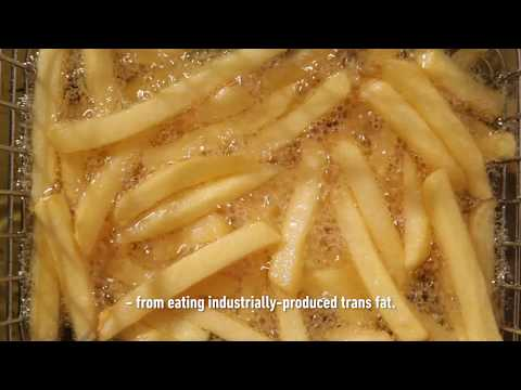New WHO REPLACE initiative launched to eliminate industrially-produced trans fat