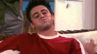 Отрывок из сериала Друзья   Джо задерживает дыхание