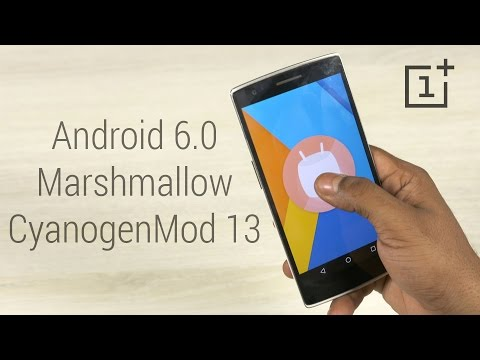 OnePlus One - CyanogenMod 13 (Android 6.0 Marshmallow) - Install Instructions