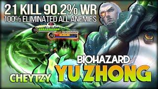Download Mp3 21 Kill 90 2 WR Biohazard Yu Zhong Brutal War Everywhere by CHEYTZY Mobile Legends Bang Bang