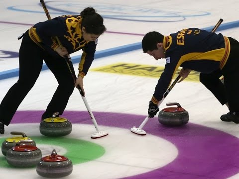 CURLING: Learn More - About Mixed Doubles Curling