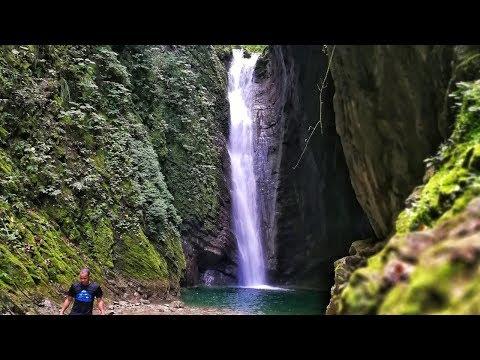 Cascada la Taína Río Arenoso - Provincia de Peravia (Baní) -  AquamanRD