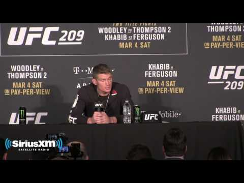 UFC 209 Post-Fight Press Conference: Stephen Thompson Believes He Won