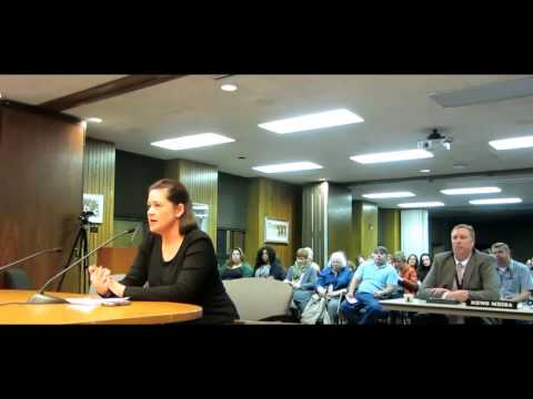 Salt Lake City School Board Meeting: Ms. T