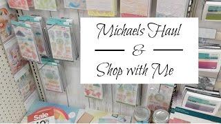 Michaels Haul 2017 | Shop with Me | Hot Buy Paper Pads, $4 Grab Bags