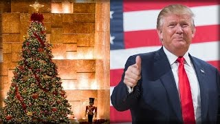 WATCH TRUMP ANNOUNCE HOW HE'LL WIN THE WAR ON CHRISTMAS… PC LIBS WILL NOT BE HAPPY