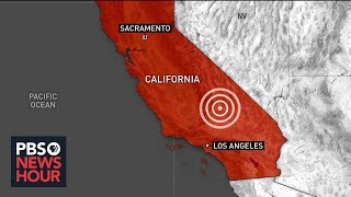 In our news wrap thursday, a powerful earthquake shook southern california. the magnitude 6.4 quake, strongest area has felt 20 years, was centere...