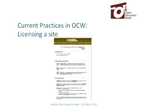Ignasi Labastida - Good practices on open content licensing