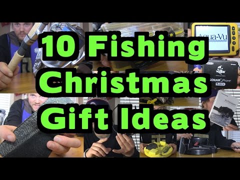 10 Christmas Fishing Gift Shopping Ideas - December 2015