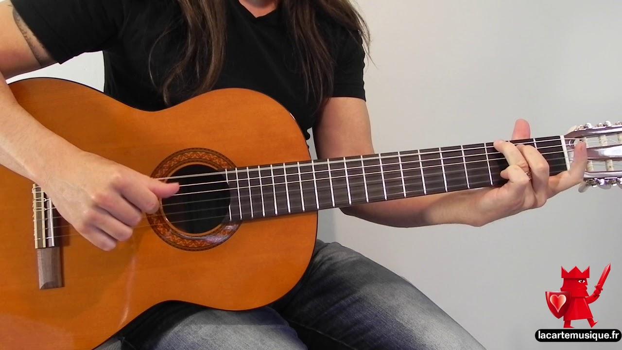 Cordes pour guitare classique Yamaha C40 : Hannabach 500 ...