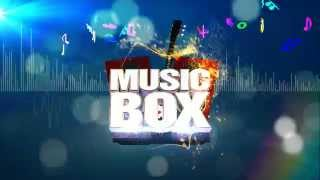 Music box intro animation for a music channel