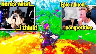 TFUE & SYMFUHNY *OUTRAGED* by SEASON 10 CHANGES! (Fortnite)