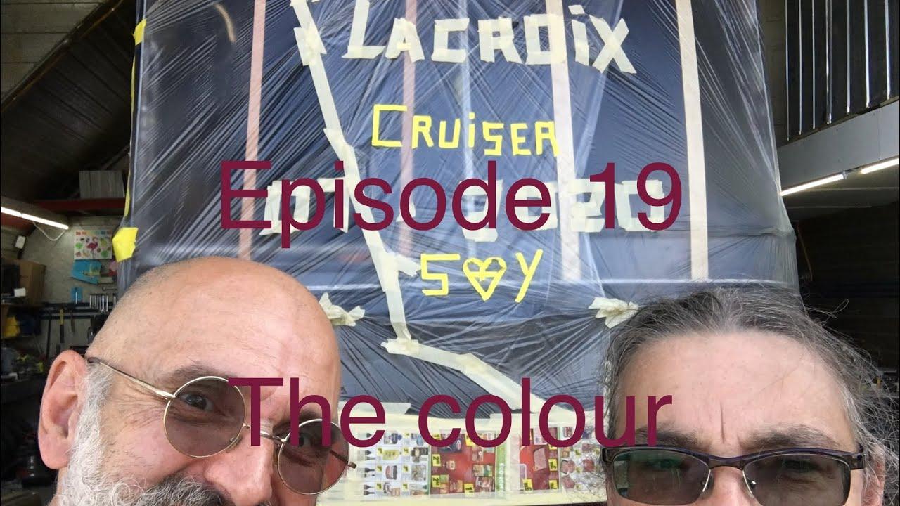 E19 The Lacroix Cruiser gets paint. MCI 102DL3 bus build.