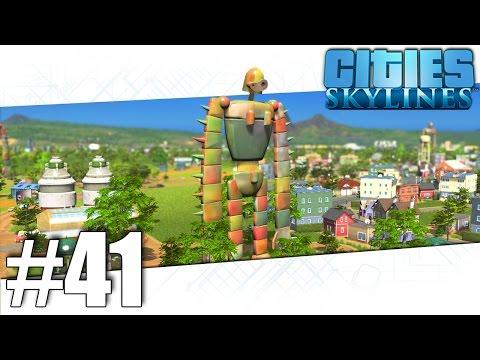 Cities Skylines - Giant Robots! - Part #41