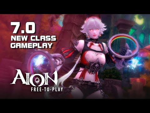 Aion 7.0 – New Painter Class Gameplay – New Zone Main Quest (Spoilers) – PC – F2P – KR