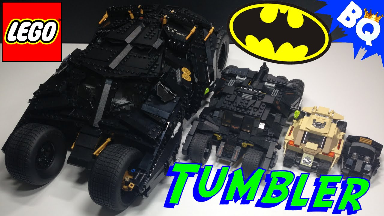lego batman tumbler comparison brickqueen youtube. Black Bedroom Furniture Sets. Home Design Ideas
