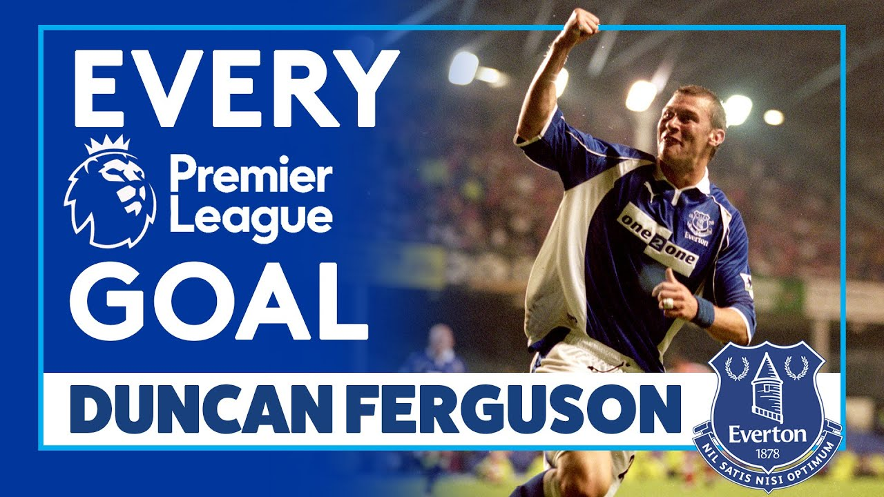 EVERY DUNCAN FERGUSON GOAL IN THE PREMIER LEAGUE FOR EVERTON!
