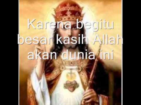 Karena Begitu BESAR KASIH ALLAH (Yoh 3:16-17)-Jericho Maranatha