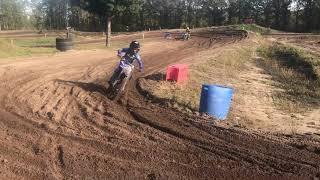 Motocross at the track the landsard with Jayson van Drunen