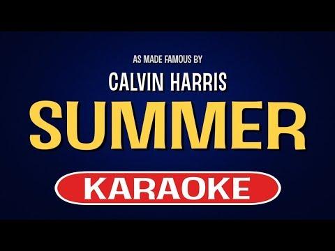 Summer - Calvin Harris | Karaoke LYRICS