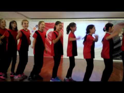 leyla kahraman sevim ertenü middle school etnic dance penguen dansı