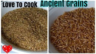 How To Cook Kamut And Freekeh Grains
