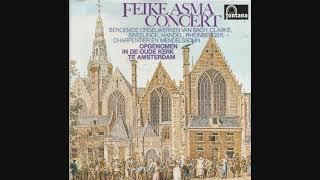 Feike Asma - orgelconcert - Oude kerk - Amsterdam - 1962/1963