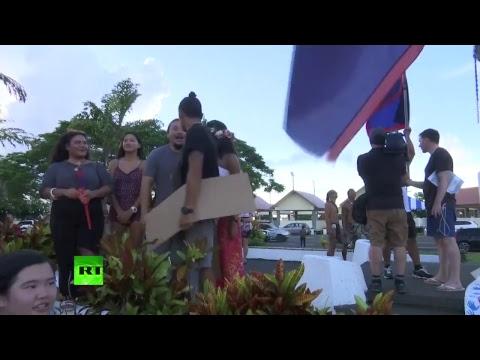 Guam : un rassemblement pour la paix après les menaces de Pyongyang