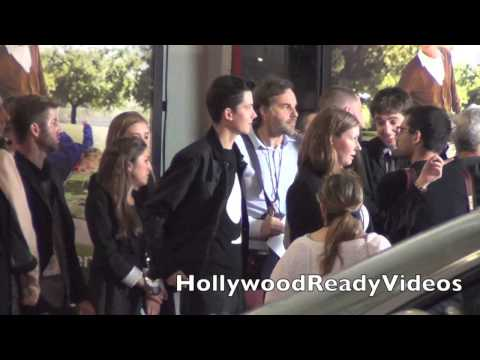 Asa Butterfield arrives at the Bad Grandpa premiere at Graumans Chinese Theatre in Hollywood
