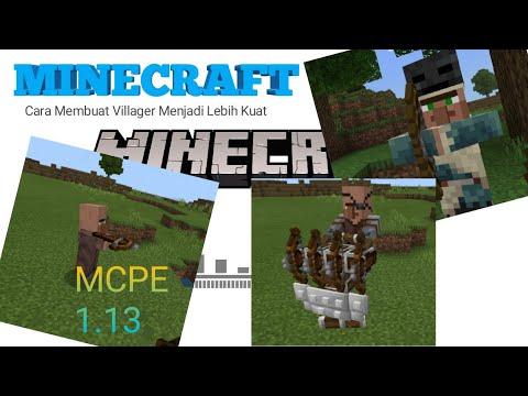 Cara Membuat Villager Menjadi Lebih Berguna Minecraft Tutorial 1 Youtube