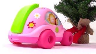 """Мультик с игрушками из  мультфильма """"Малыши"""": Подарок на Новый год: Развивающие игрушки для детей"""