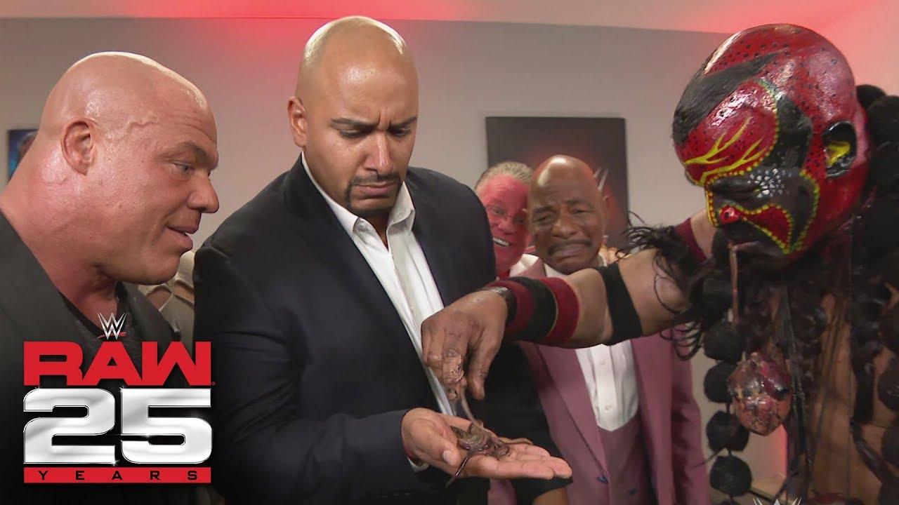 Download Bizarre WWE Legends visit Raw GM Kurt Angle: Raw 25, Jan. 22, 2018