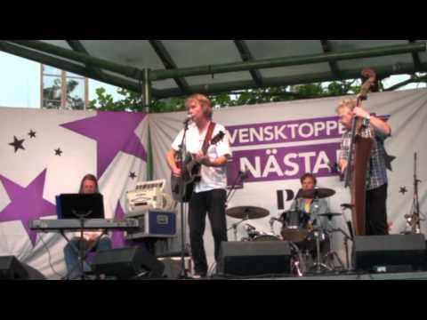 Peter Lundblad live på Larmtorget i Kalmar