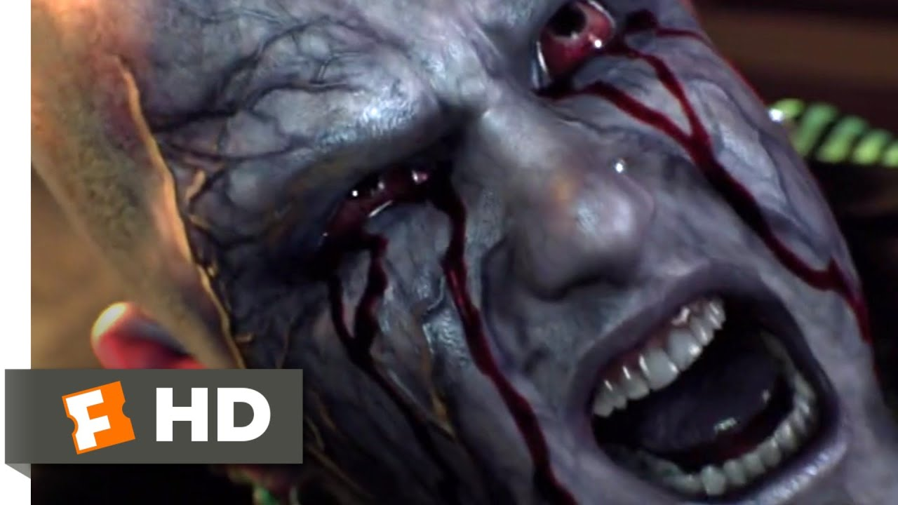 Resident Evil: Damnation (2012) - Las Plagas Mutation Scene (3/10) | Movieclips
