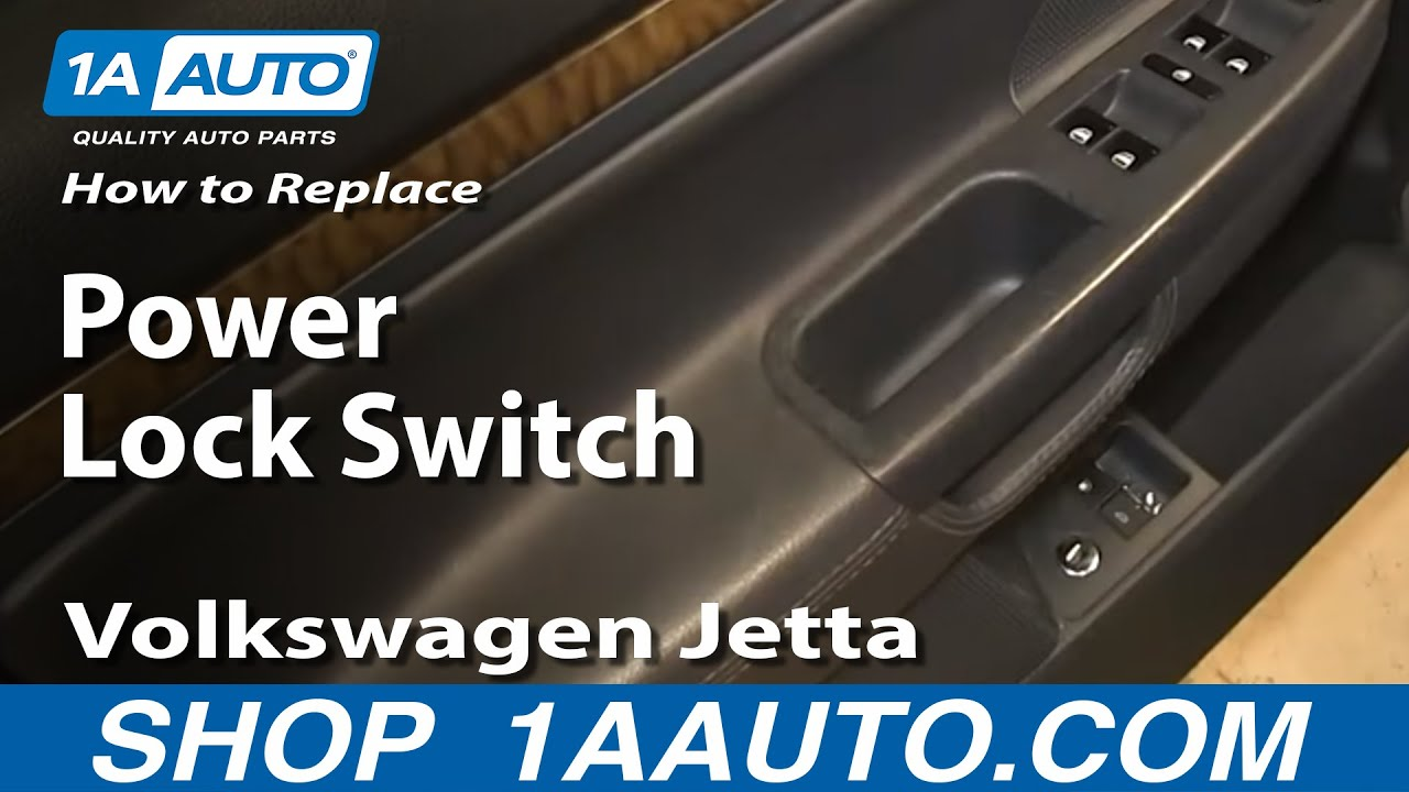 How To Install Replace Power Door Lock Switch 2005-10 Volkswagen VW Golf Cart Windshield Lever Locks on utv windshield, golf club windshield, go cart windshield, bus windshield, car windshield, atv windshield, vehicle windshield,