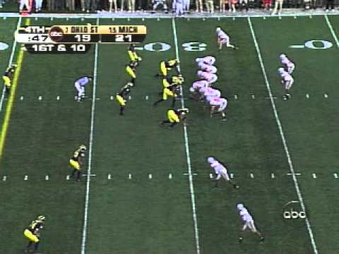 Troy Smith to Anthony Gonzalez - Michigan 2005