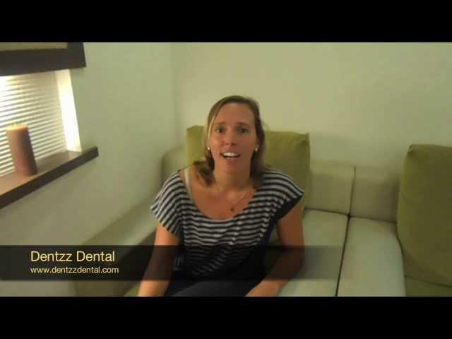 Dentzz aided this patient from Belgium smile again